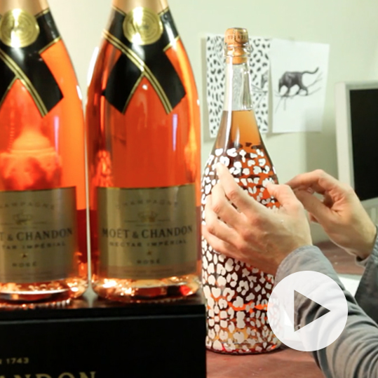 Moët & Chandon Packaging Bottle Design by Benard Creative