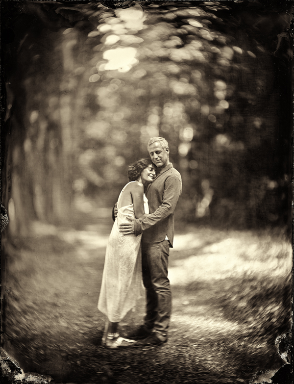 James Benard and Girlfiend Elena Brower Tin Type.jpg