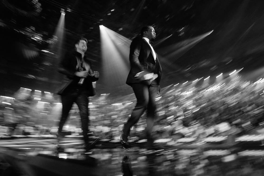 Diddy & Robin Thicke, iHeart Radio Festival, Las Vegas