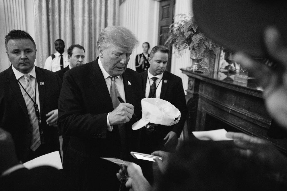 President Donald Trump, East Room, The White House