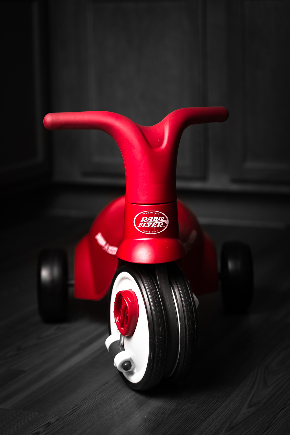 My sons Radio Flyer.  Since he is not riding it, I will photograph it