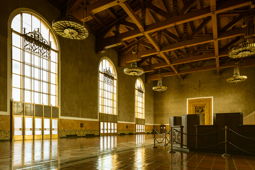 Union Station is a good place to photograph and has a very nice 1940s feel to it
