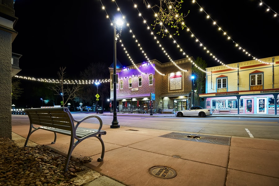 Lights on Mainstreet, Parker Colorado