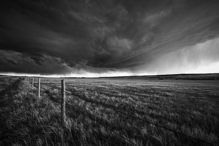Brooding Storm in Kiowa