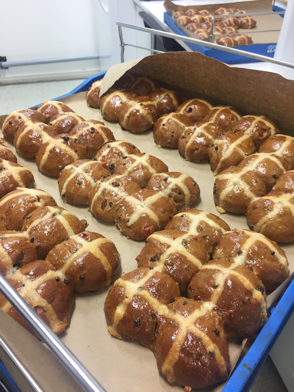 Hot Cross Buns—the Easter favourite.