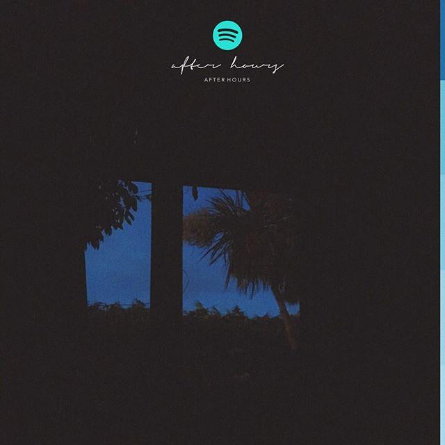 @bbviiv has updated the After Hours playlist on my @Spotify w/ artists @a2_vii @OctavianEssie @brysontiller @stwosound @partynextdoor @Ryantrey @RoyWoods 🌃🌌💕