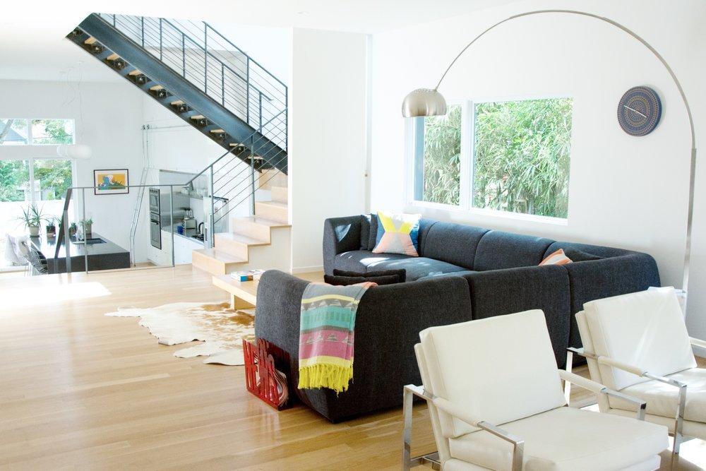 Hawthorne Residence Living Room