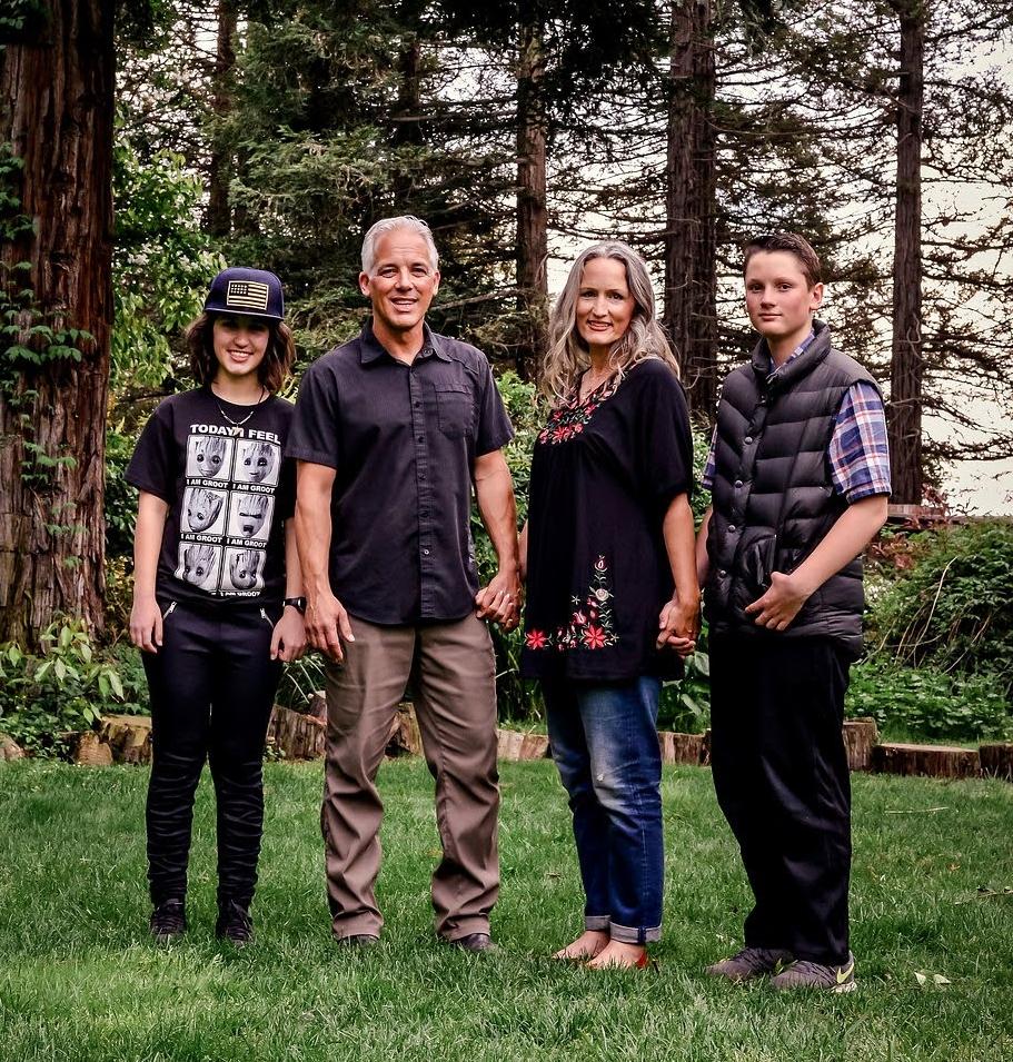 Gary, Chris, Wyatt, and Audrey