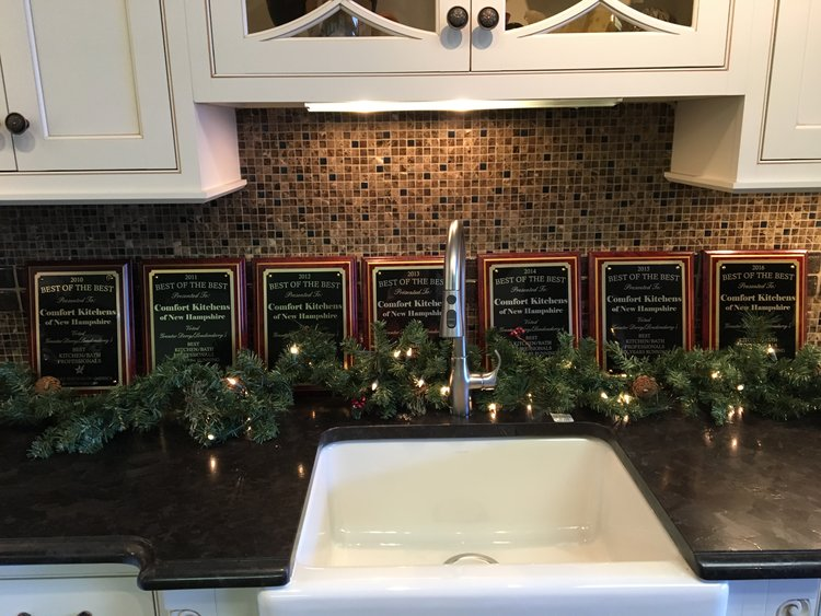voted best of the best kitchen and bath remodeling 7 years running - Comfort Kitchen