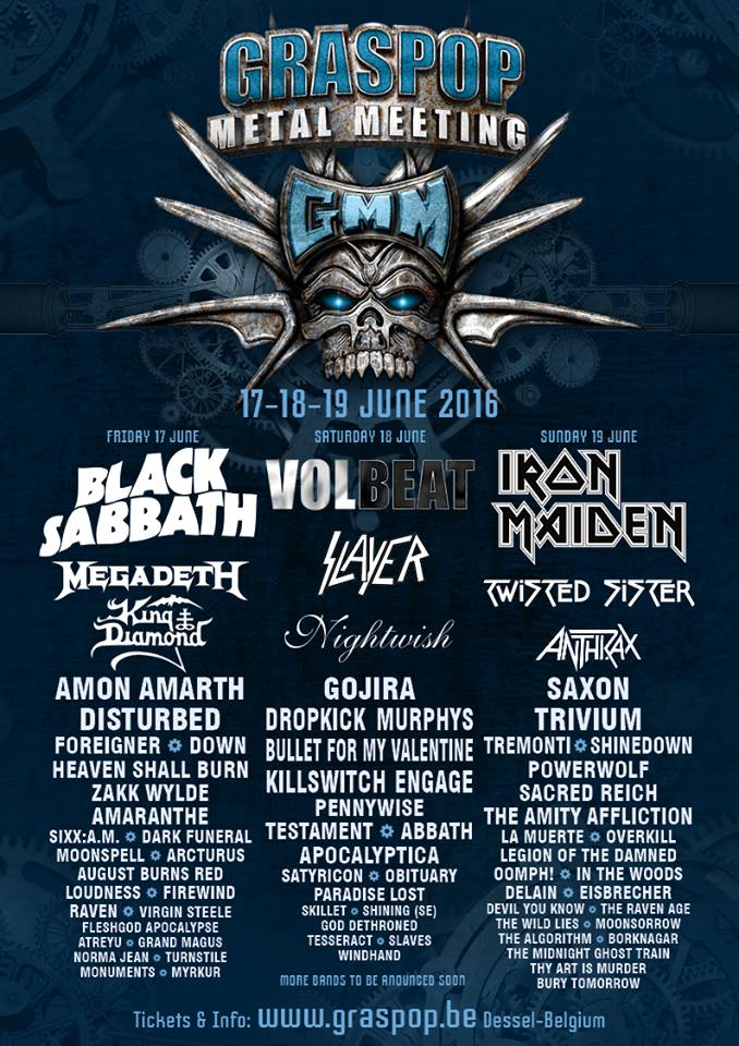 The Algorithm Graspop Metal Meeting 2016