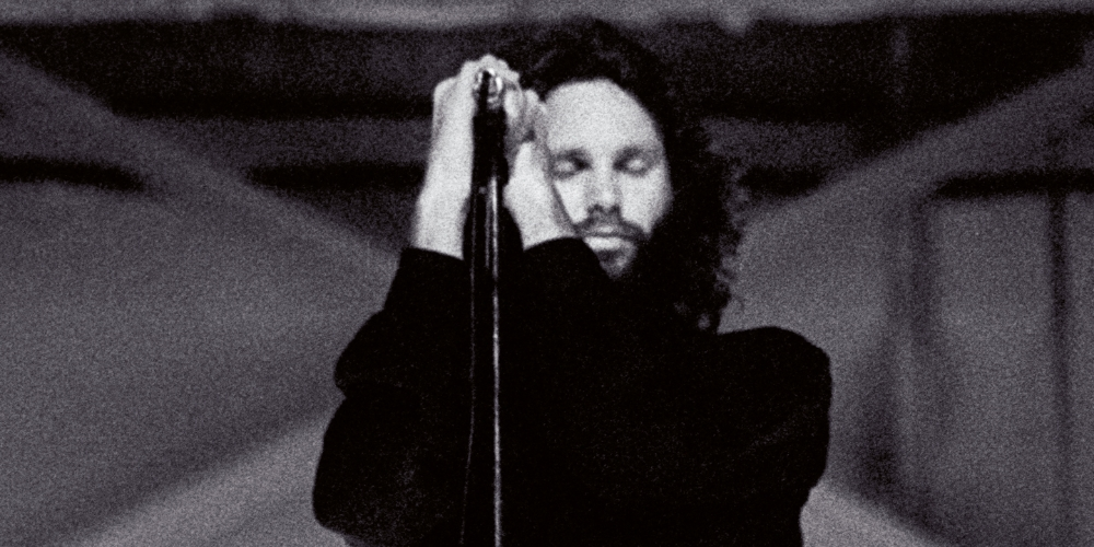 Eyes Closed   Jim Morrison - Miami - 1969   See Original Print