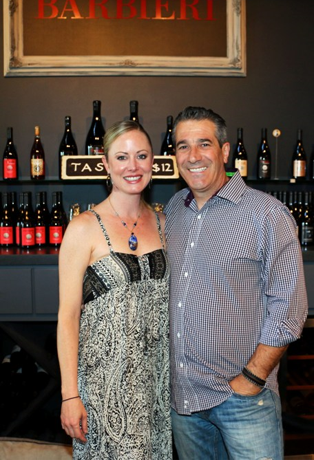 Erin Kempe (Fiancee) and Paolo Barbieri (Master Sommelier)