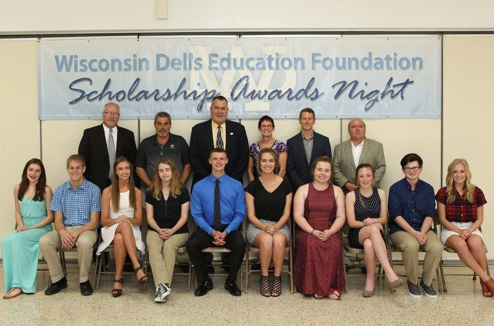 Front Row from Left to Right:   Olivia Lechnir, Adam Wieser, Cailey Norgard, Haley Burns, Colin Hirst, Raven Bartz, Shelby Weidenkopf, Claire Nate, Tim Tylka, Tessa Nelson   Back row from left to right:     WDEF Executive Board:  Kelly Bauer, Todd Nelson, Tom Diehl, Marti Fults, Kyler Royston, Joe Gussel, Randy Kuhnau (not pictured)
