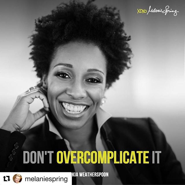 "We 💕 when our #ladyboss spreads our mission! Listen up 👆🏾——————————————————-#Repost @melaniespring ・・・ @KiaNWeatherspoon of @DeterminedbyDesign is a kickass designer who is building epic spaces for those who get often get overlooked. In this awesome episode we dive into her story. Listen in to hear how a ballet dancing college student who went into the Air Force ended up designing her first space & finding what she loves to do. She also shares the easiest way you can update the space you're in. . . Take the next step & head over to the podcast - as Kia would say: ""Don't overcomplicate it."" [go to: brandedconfidence.com/podcast]"