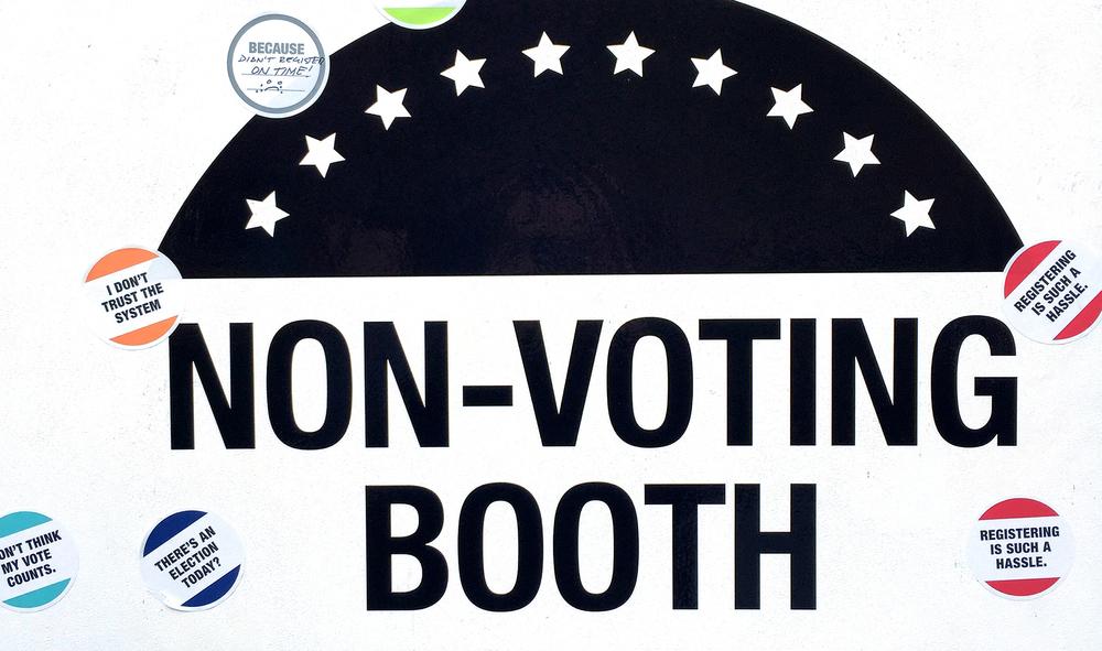 Design & Politics:Non-Voting Booth