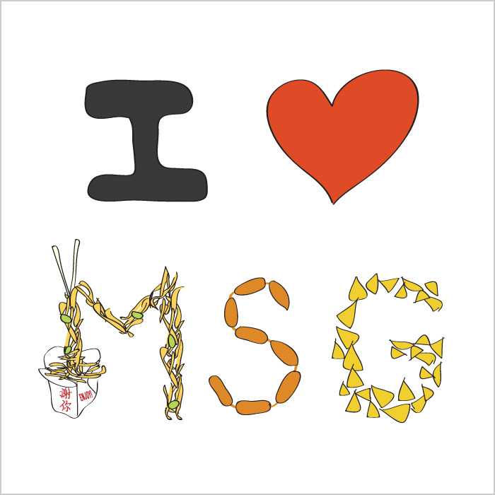 I LOVE MSG