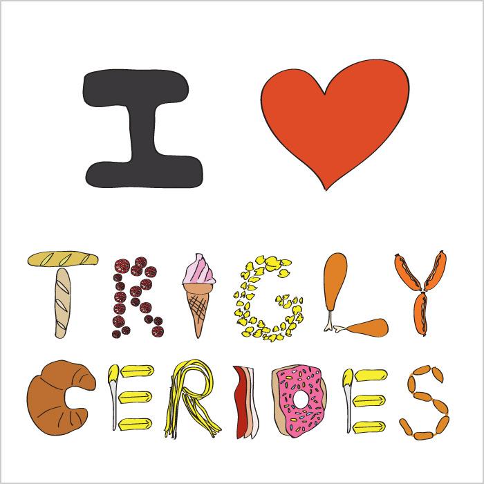 I LOVE TRIGLYCERIDES