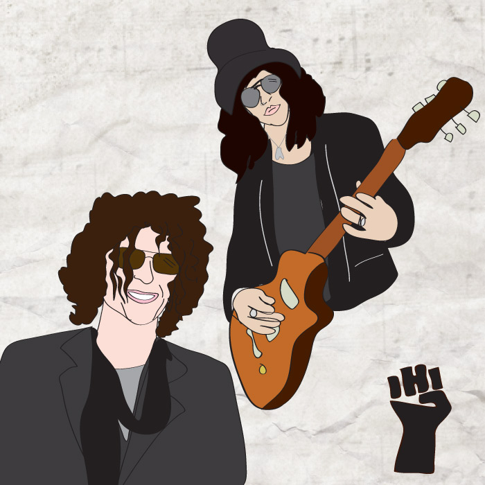 Stern and Slash. Great interview. Great performance