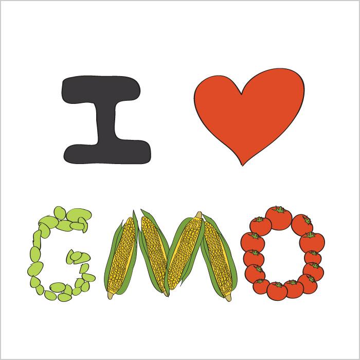 I LOVE GMO