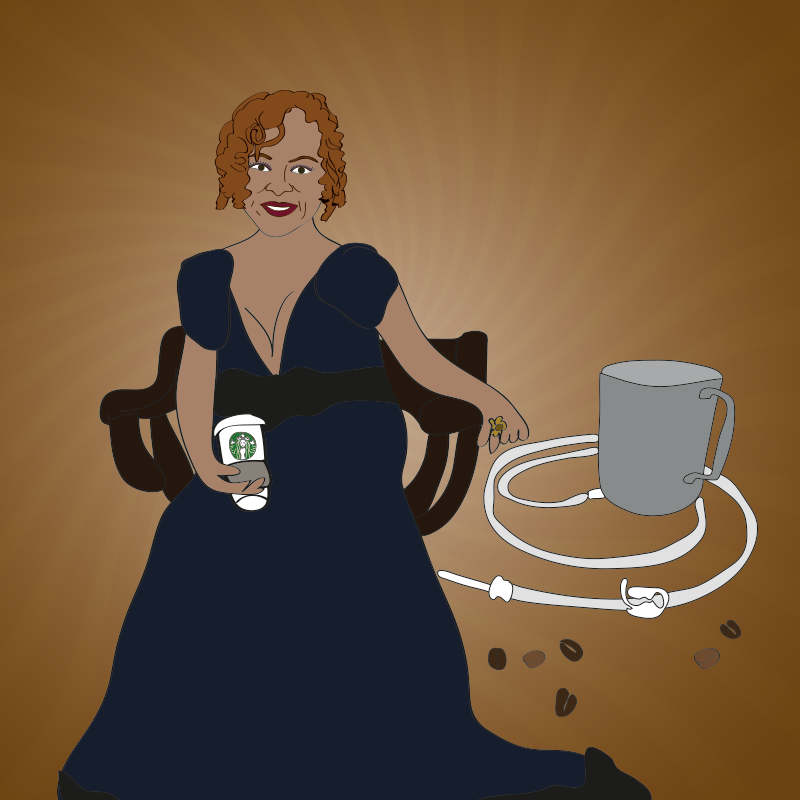 Robin Quivers and her coffee enema