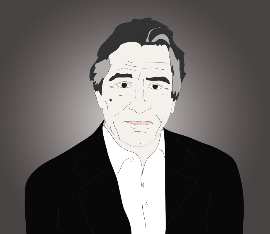 Robert De Niro illustration