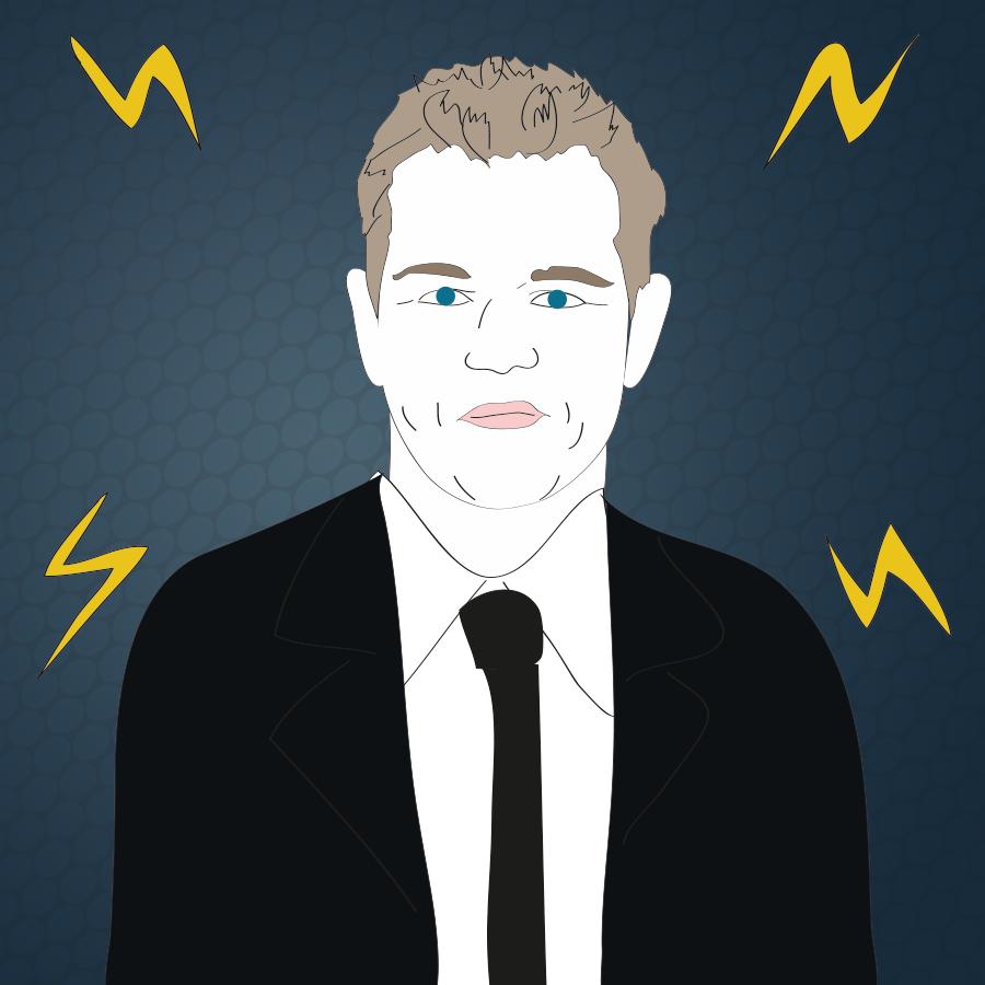 Matt Damon illustration