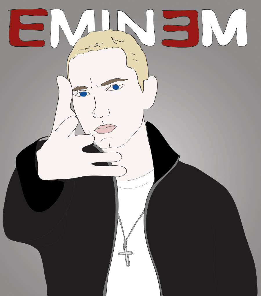Marshall Mathers, Eminem illustration