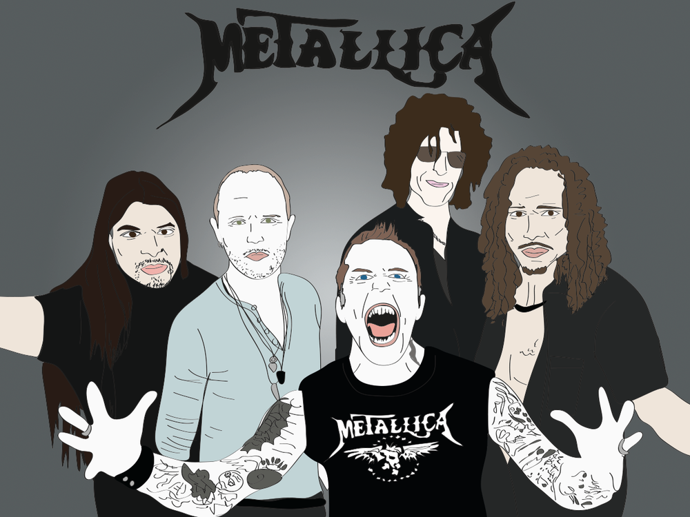 Howard Stern and Metallica
