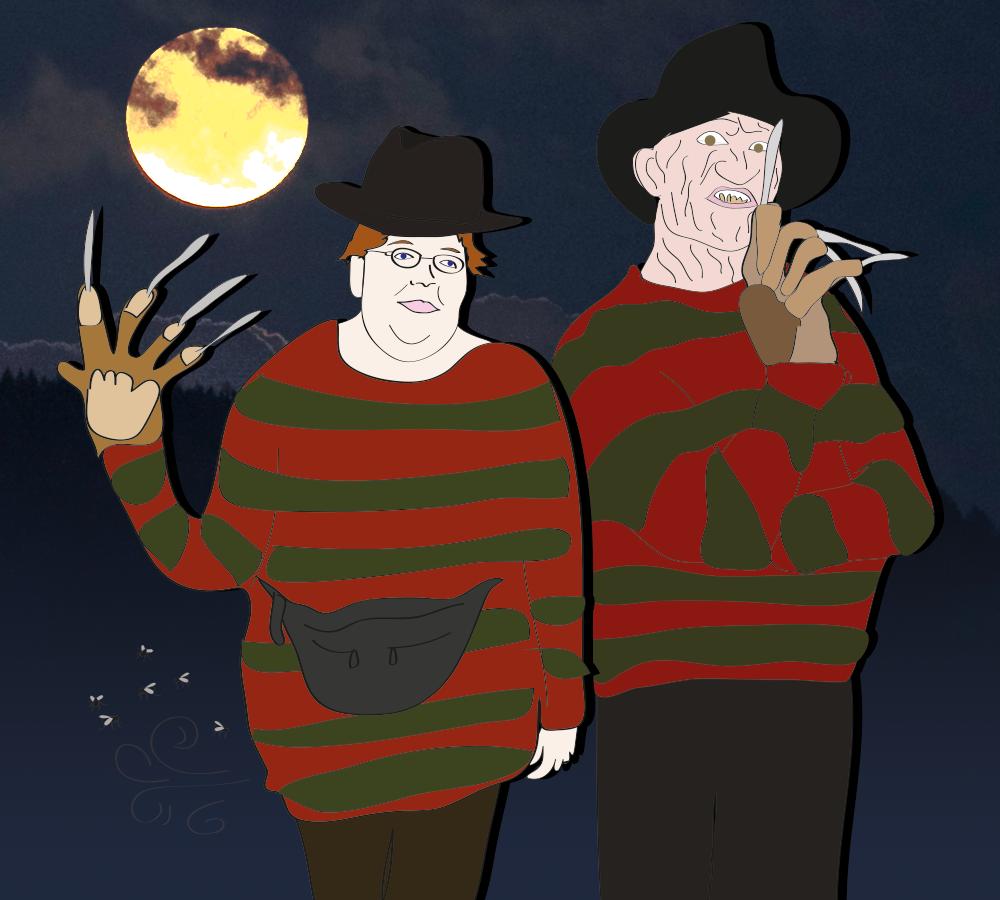 Freddy and Wendy Krueger