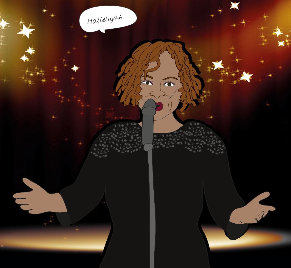 Robin Quivers sings Hallelujah