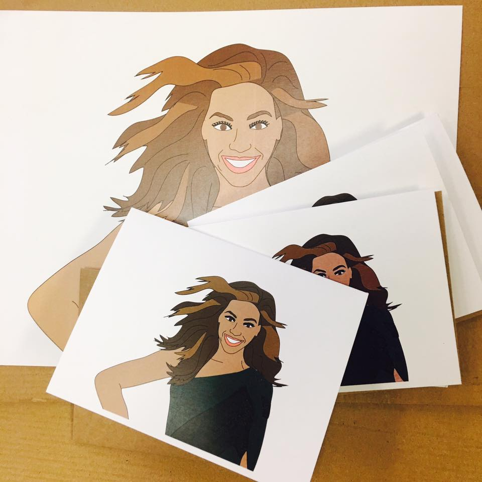 Beyonce illustration