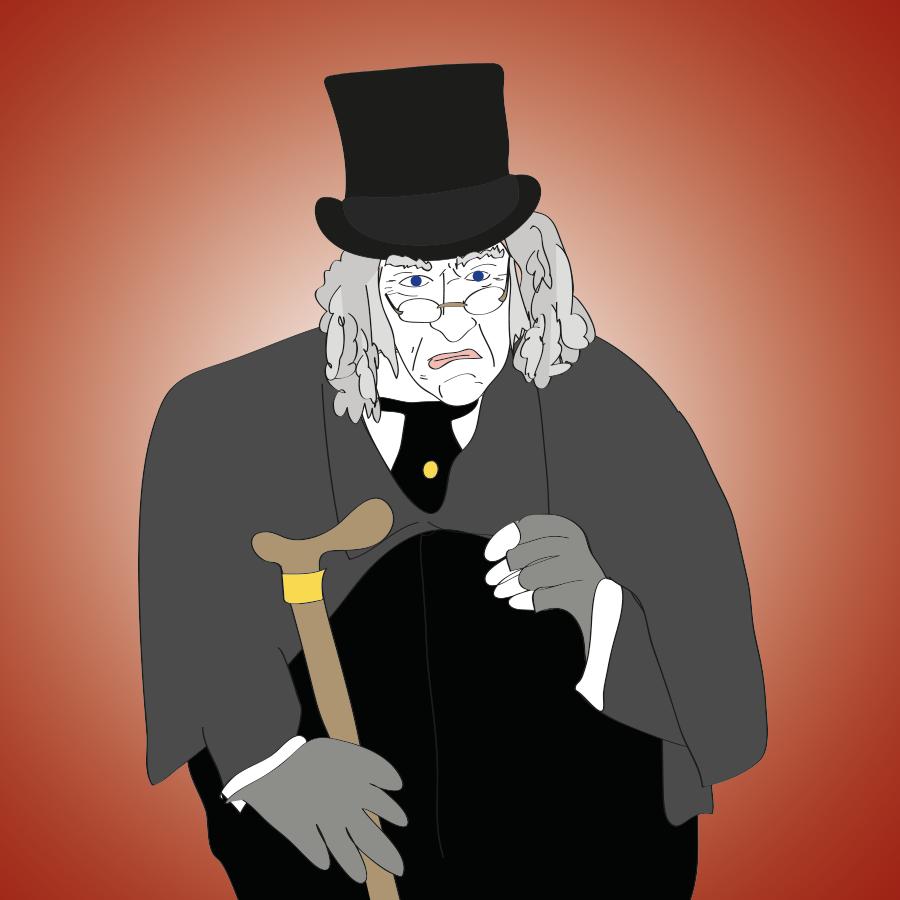 Scrooge illustration