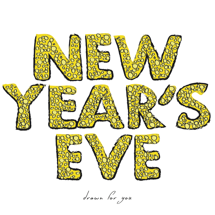New Year's Eve illustration