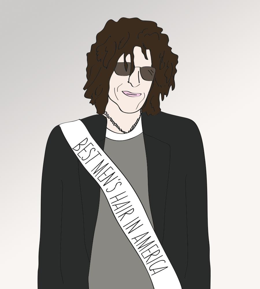 Howard Stern Wins Best Hair Award