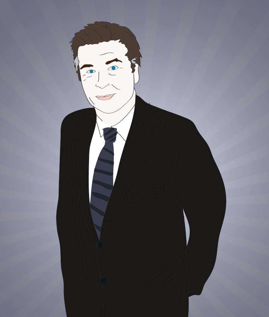Alec Baldwin illustration