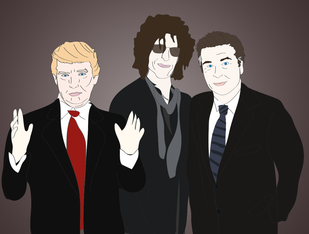 Alec Baldwin, Howard Stern