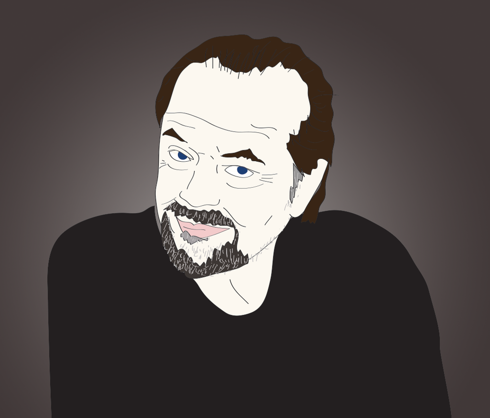 Jack Nicholson illustration