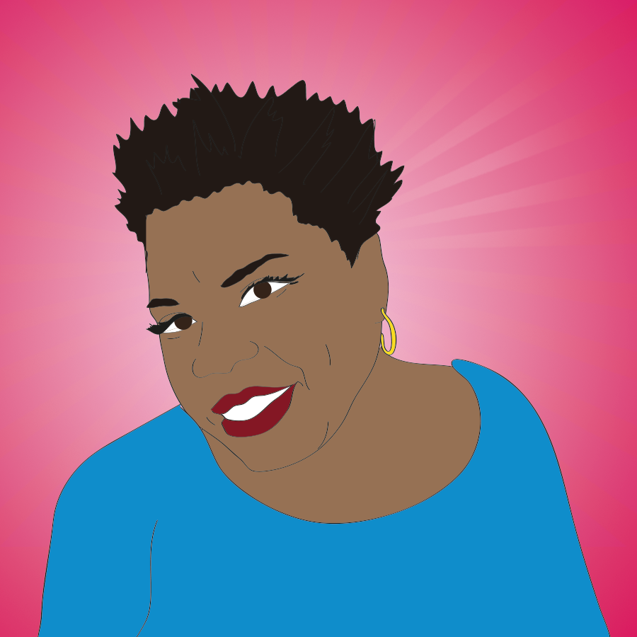 Leslie Jones illustration