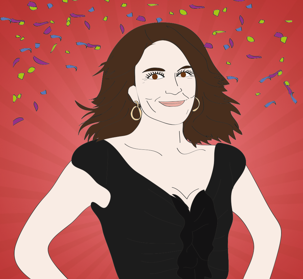 Tina Fey illustration