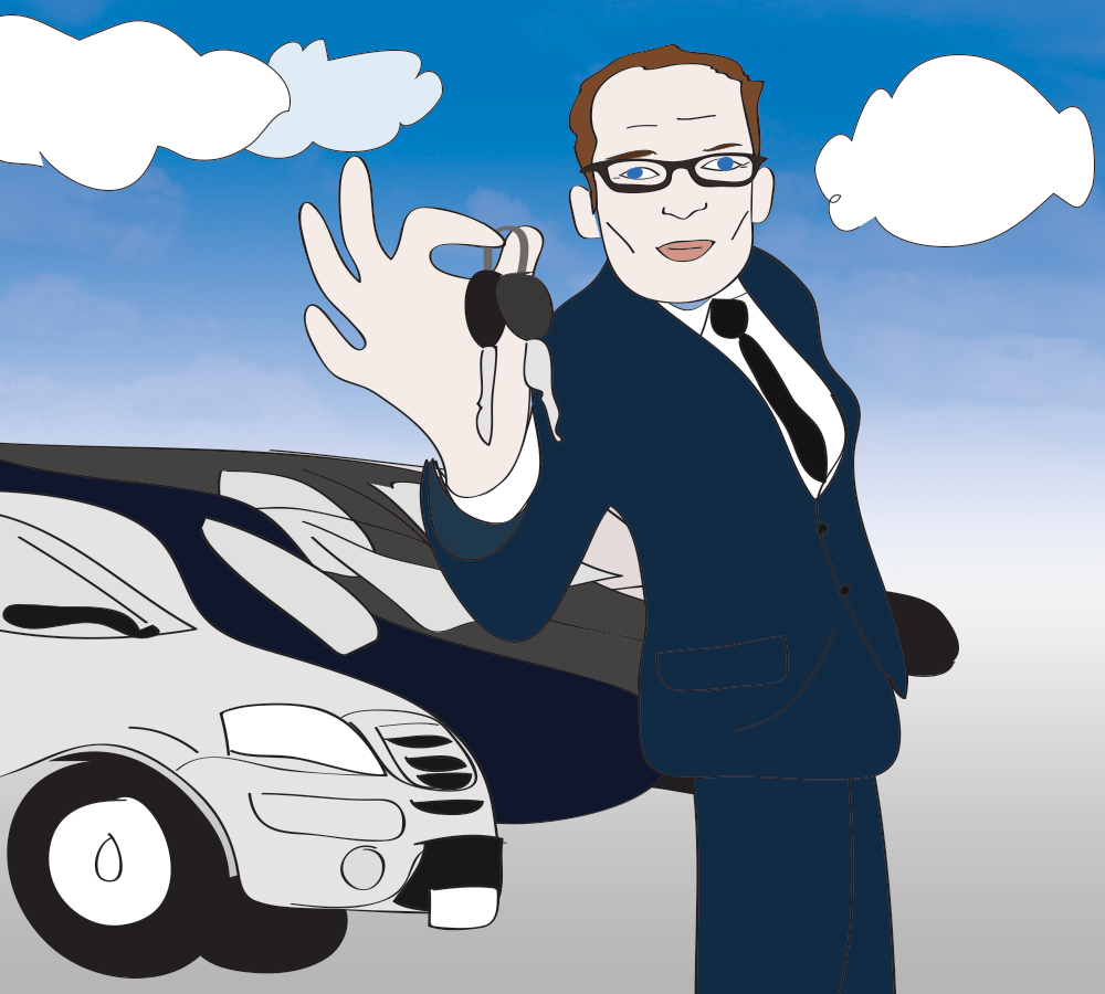 Medicated Pete's new career as a car salesman
