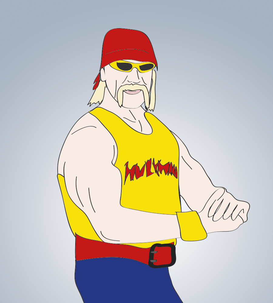 Hulk Hogan, Hulkamania, illustration