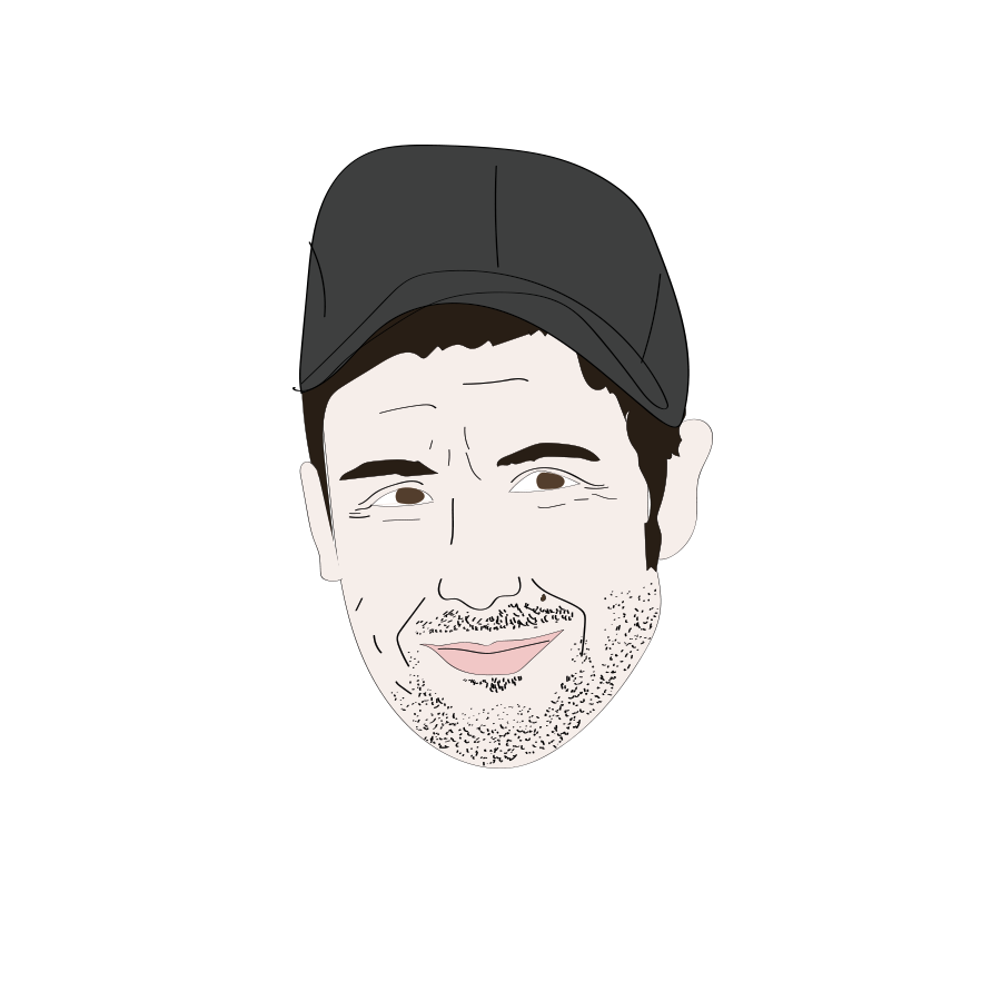 Adam Sandler illustration, Drawn for You