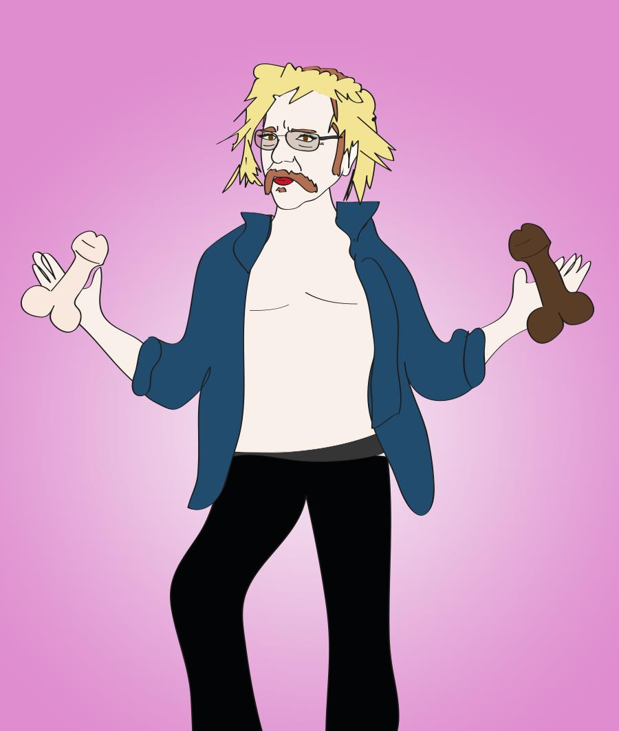 Ronnie Mund, cocks illustration, Drawn for You