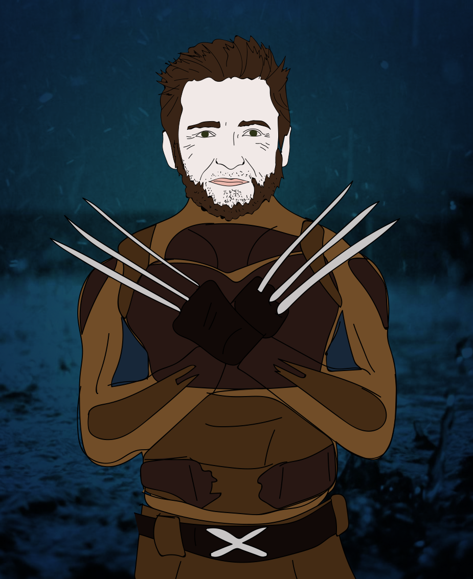 Hugh Jackman, Wolverine, illustration
