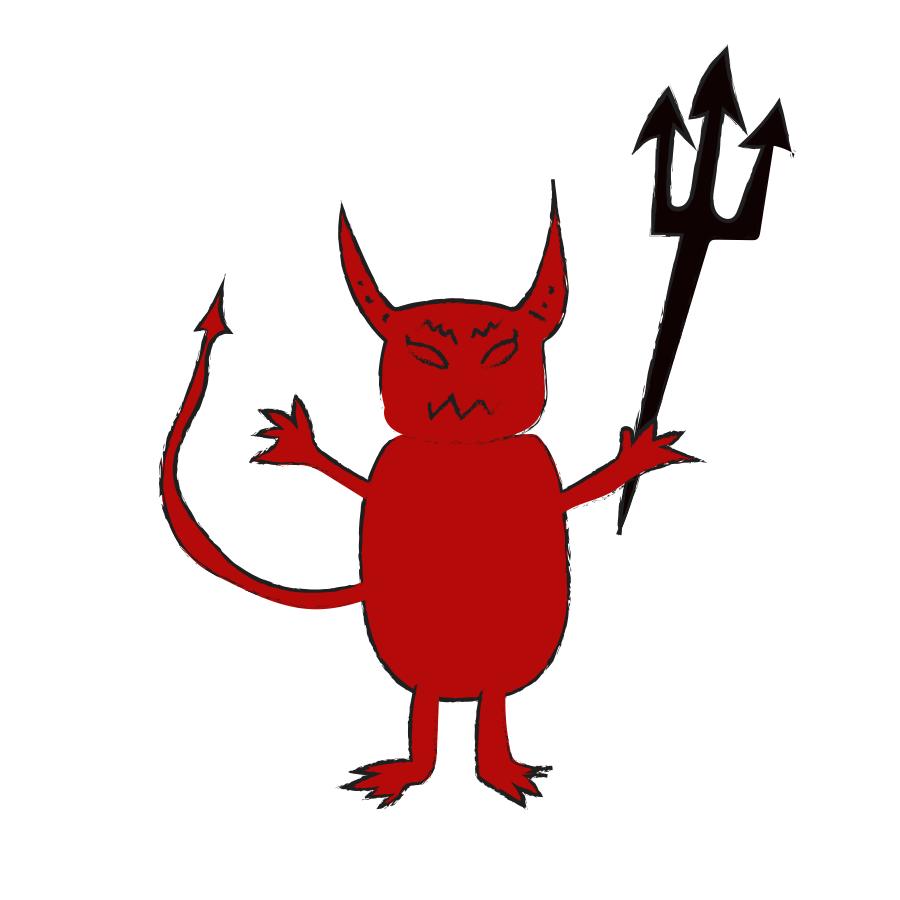 Devil's Night illustration, Drawn for You