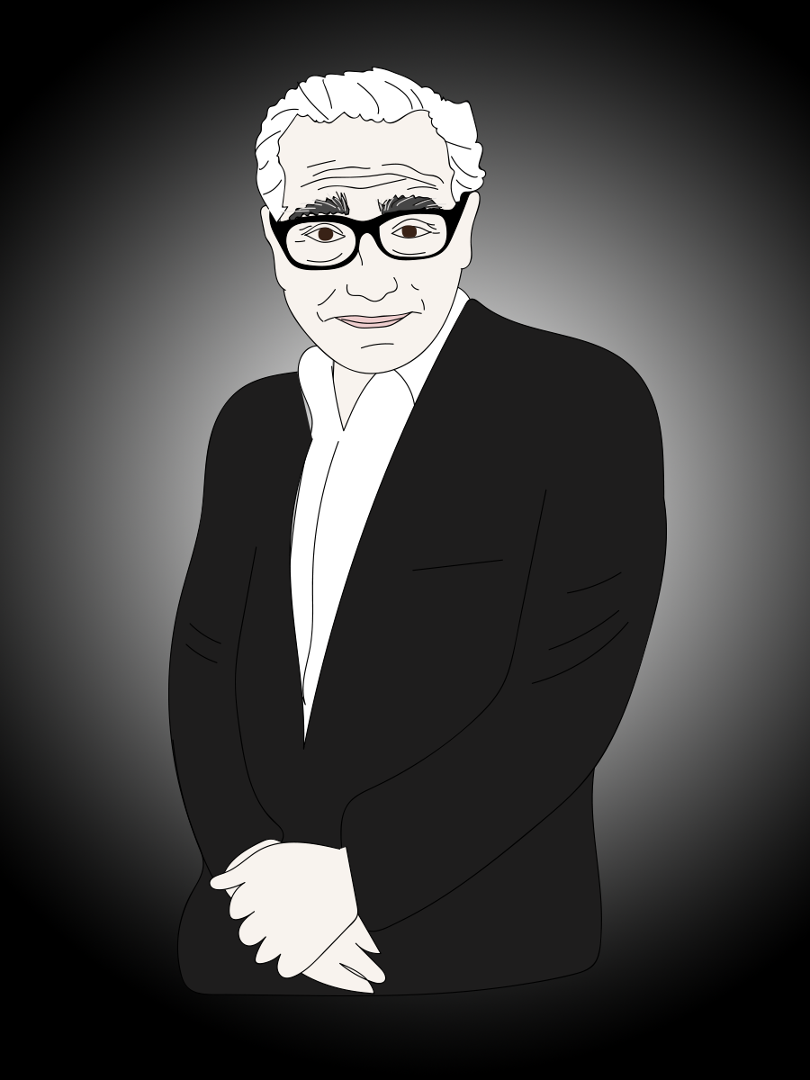 Martin Scorsese illustration
