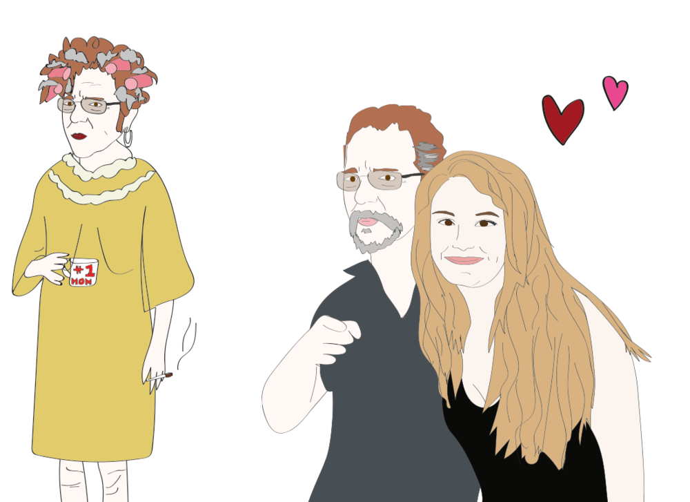 Ronnie and Stephanie illustration