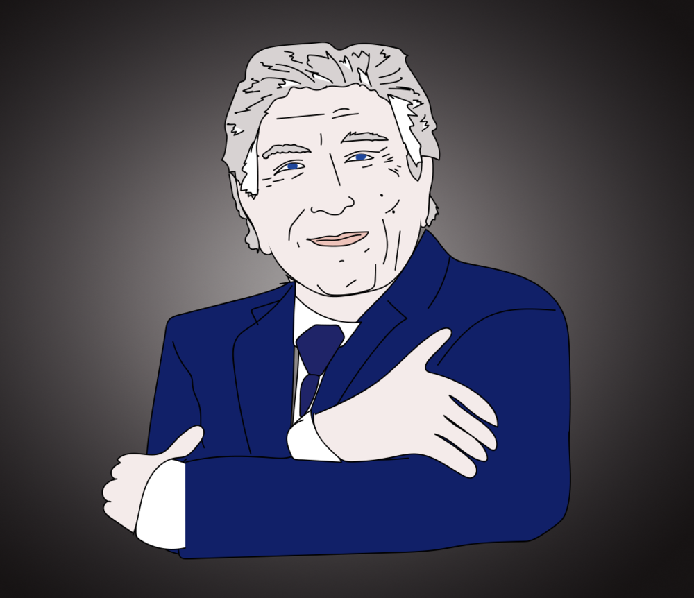 Tony Bennett illustration