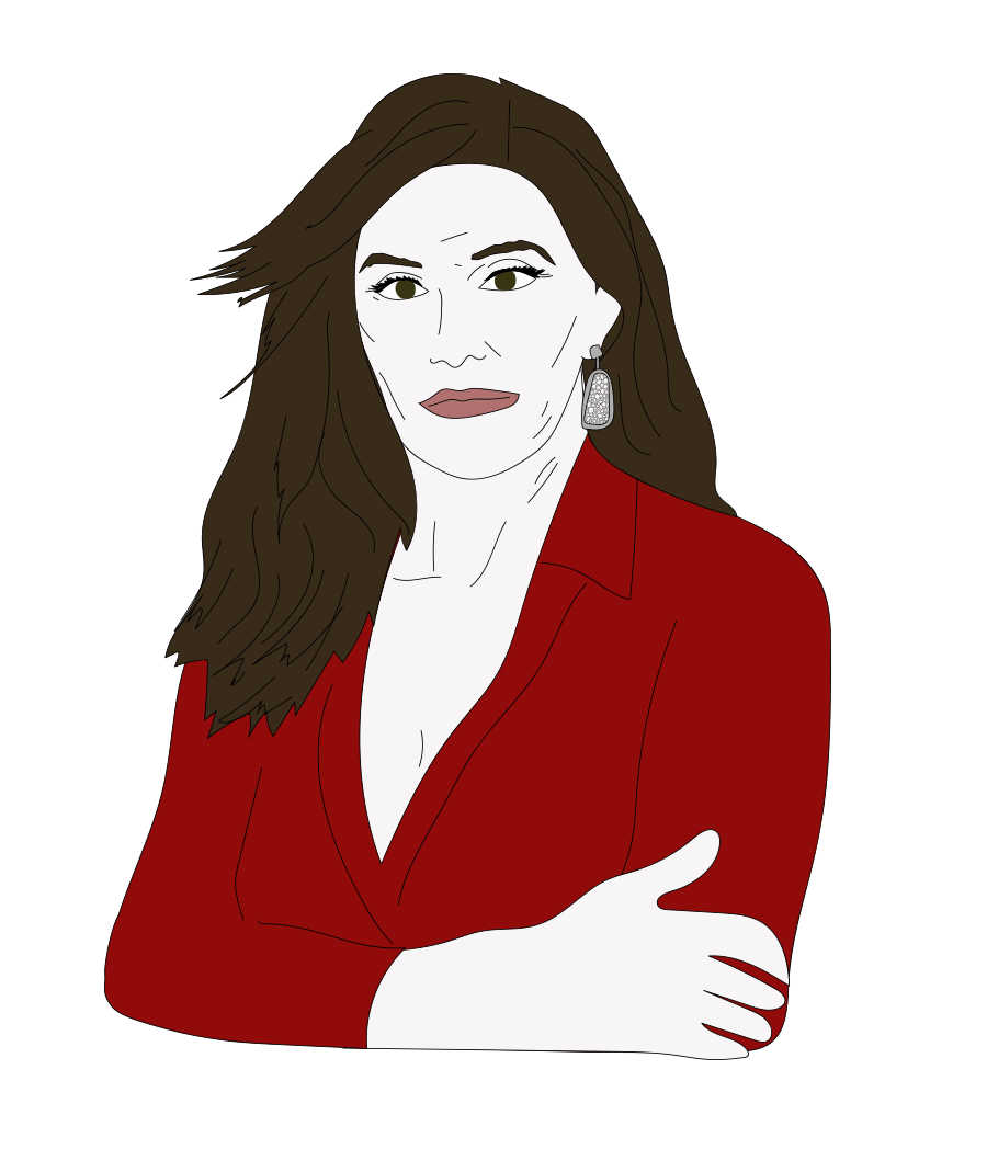 Caitlyn Jenner illustration