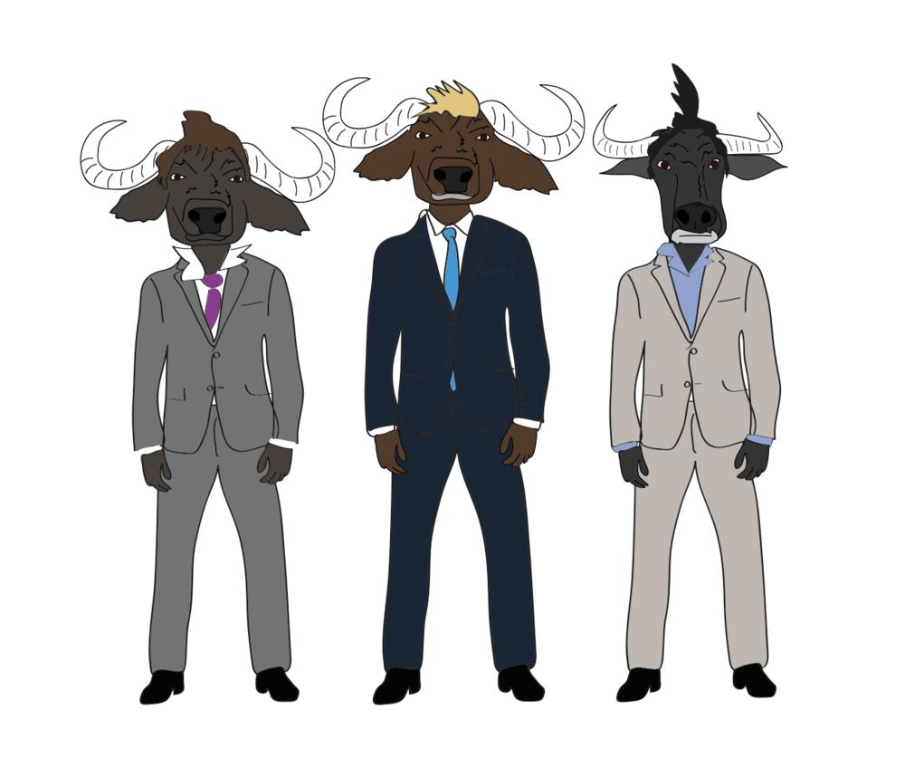 Bullheaded illustration